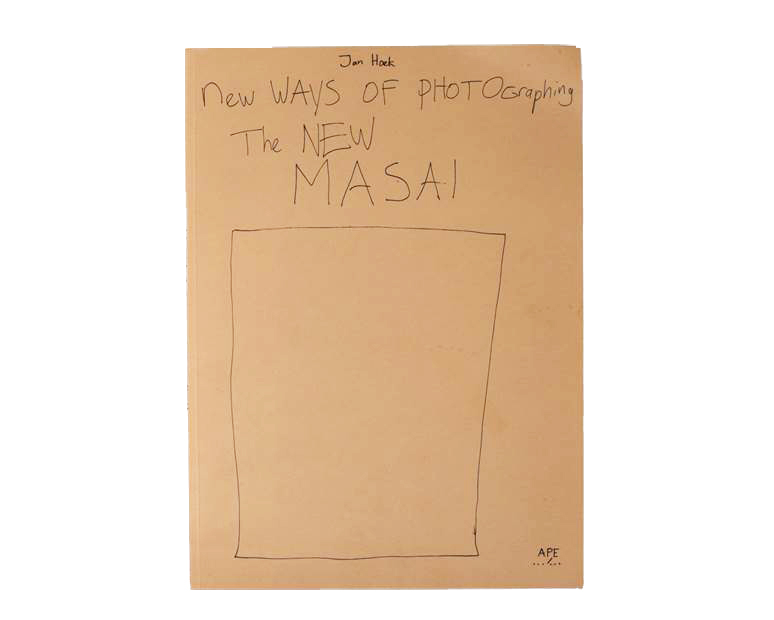 The cover of Jan Hoek's New Ways of Photographing the New Masai (Art Paper Editions, 2014). © Jan Hoek